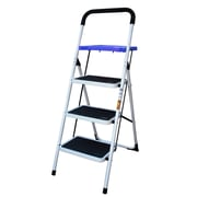 AmeriHome™ Steel Frame 3-Step Utility Stool with Paint Tray