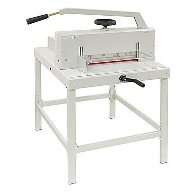 Formax® CUT-TRUE 15M Manual Guillotine Paper Cutter With LED Laser Line