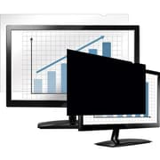 "Fellowes® PrivaScreen™ Blackout Privacy Filter For 20"" Widescreen, Black"