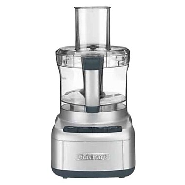Cuisinart® Elemental 8 Cup Food Processor, Gunmetal