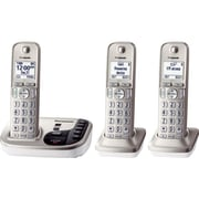 Panasonic KX-TGD223N Cordless Digital Phone With 2 Handsets, 100 Name/Number
