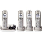 Panasonic KX-TGD224N Cordless Digital Phone With 3 Handsets, 100 Name/Number