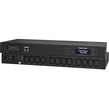 Cyberpower PDU15MHVIEC12AT Metered ATS Series Power Distribution Unit, 120 V
