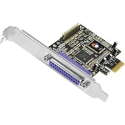 SIIG INC® Dual Profile CyberParallel 2-Port PCI-Express (PCIe) Adapter