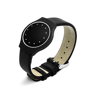 Misfits Wearable Pebbled Leather Band, Black
