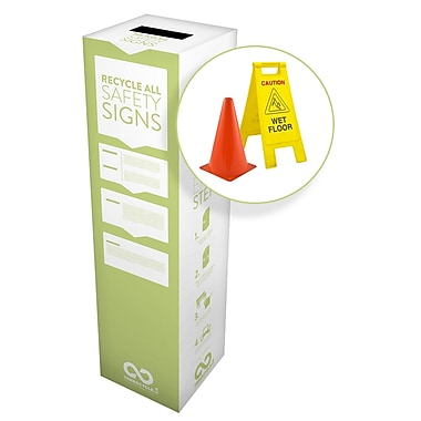 TerraCycle® Safety Signs Zero Waste Box, 15