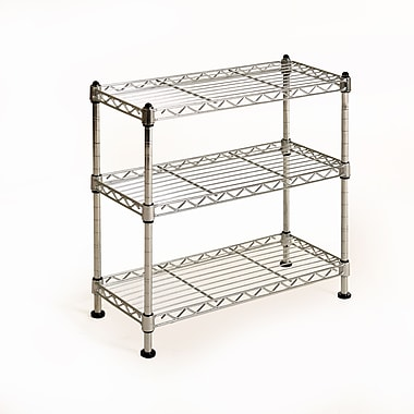 Seville Classics 3-Shelf Counter Top and Cabinet Organizer