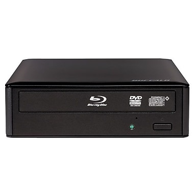 Buffalo™ BRXL-16U3 USB 3.0 MediaStation BD-R/RE Support External Blu-ray Writer