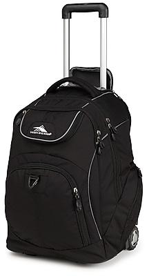 High Sierra Waffle & Duralite Powerglide Wheeled Backpack, 21