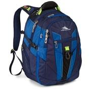 """High Sierra Ballistic; XBT Daypack 19.5"""" x 7"""" True Navy, Royal Cobalt & Chartreuse"""