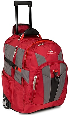 High Sierra Ballistic Nylon XBT Wheeled Back Pack 21