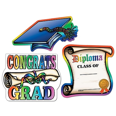 Graduation Cutouts, 16
