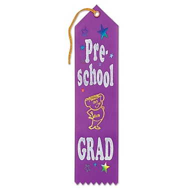 Pre-School Grad Award Ribbon, 2