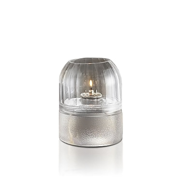 LiquidGlow – Bougies remplies de cire de paraffine liquide, transparentes, 60 heures, 24/boîte