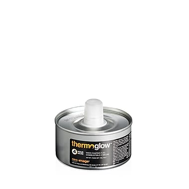 ThermoGlow Chafing Fuel, 4-Hour DEG Wick, 24/Box