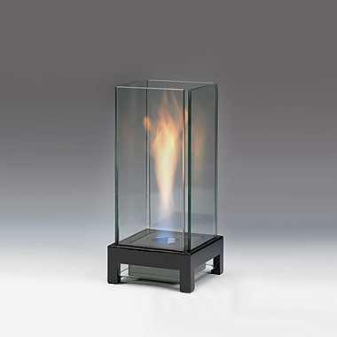 EcoGlow Bioethanol Lamp, Stratos, Gloss Black, Each
