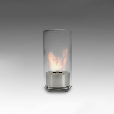 EcoGlow Bioethanol Lamp, Juliette, Stainless Steel, Each