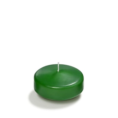 Yummi Floating Candles, Hunter Green, 3