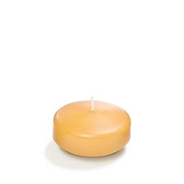 Yummi Floating Candles, Caramel, 3