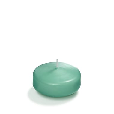 Yummi Floating Candles, Aqua Green, 3