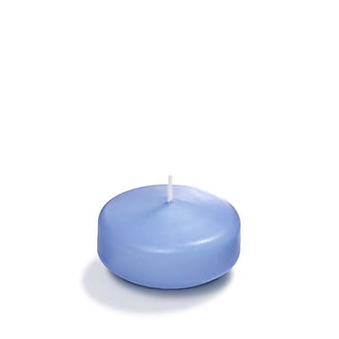 Yummi Floating Candles, Periwinkle Blue, 3
