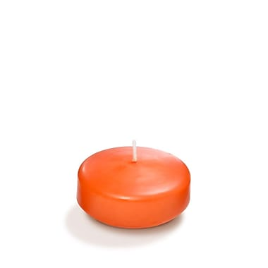 Yummi Floating Candles, Orange, 3