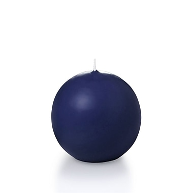 Yummi Sphere / Ball Candles, Navy Blue, 2.8