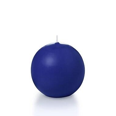 Yummi Sphere / Ball Candles, Royal Blue, 2.8