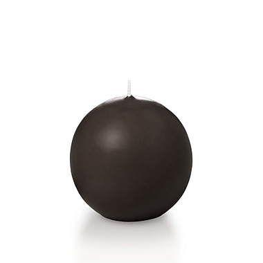 Yummi Sphere / Ball Candles, Chocolate, 2.8