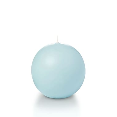 Yummi Sphere / Ball Candles, Robin Egg Blue, 2.8