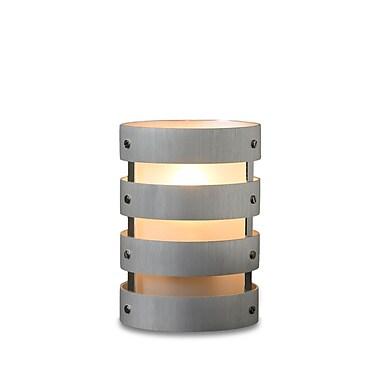 Neo-Image – Porte-chandelle Lexus Sidaro, anneaux métalliques, aluminium brossé