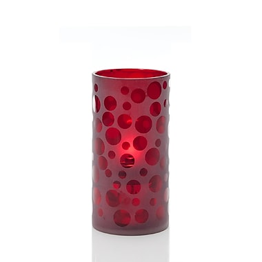 Neo-Image – Porte-chandelle Cirque, rouge rubis
