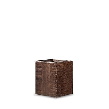 Neo-Image – Pied pour lampe Matrix, bois brun foncé, (Abat-jour 84041 requis)
