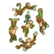 "Mini Monkey Cutouts, 6-1/2""-7"", 70/Pack"