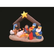 LB International Inflatable Nativity Scene Christmas Decoration