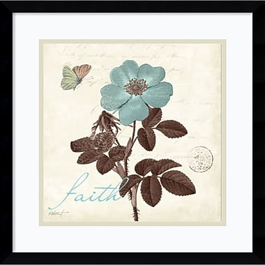 Amanti Art Touch of Blue II Faith Framed Art Print by Katie Pertiet, 17.13