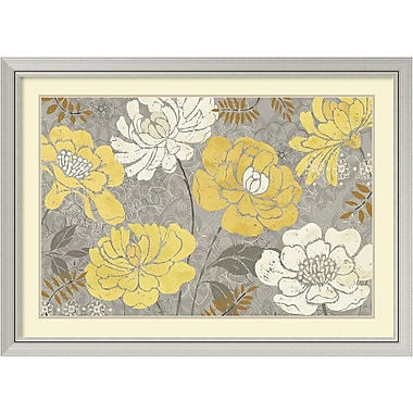Amanti Art Morning Tones Gold III Framed Art Print by Daphne Brissonnet, 31.63