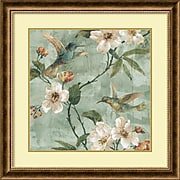 """Amanti Art """"Birds of a Feather II"""" Framed Art Print by Renee Campbell, 28.75""""H x 28.75""""W"""