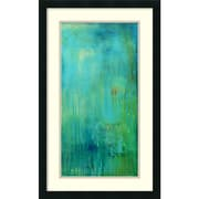 "Amanti Art ""Blue Mountain Rain II"" Framed Art Print by Erin Ashley, 31""H x 19""W"