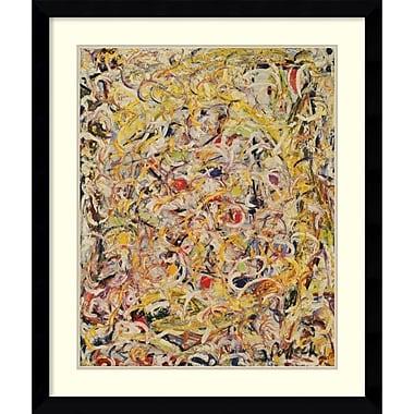 Amanti Art Shimmering Substance, 1946 Framed Art Print by Jackson Pollock, 38.63