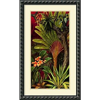 """""Amanti Art """"""""Bali Garden II"""""""" Framed Art Print by Rodolfo Jimenez, 34.63""""""""H x 21.13""""""""W"""""" 1388623"