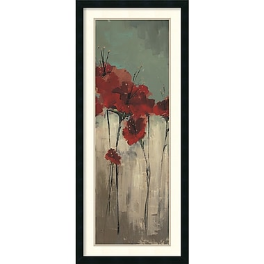 Amanti Art From Scarletts Garden II Framed Art Print by Luis Solis, 42