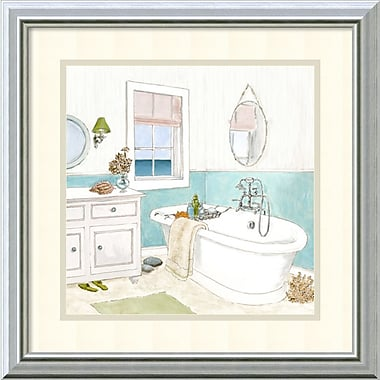 Amanti Art Seaside Spa II Framed Art Print by Jocelyn Haybittel, 18