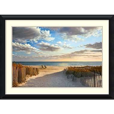 Amanti Art Sunset Beach Framed Art Print by Daniel Pollera, 32