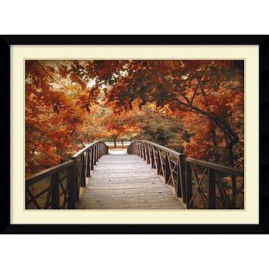 Amanti Art Footbridge Framed Art Print by Jessica Jenney, 31.63
