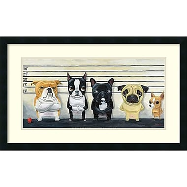 Amanti Art The Lineup Framed Art Print by Brian Rubenacker, 19