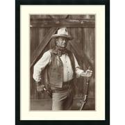 "Amanti Art ""John Wayne"" Framed Art Print by Bob Willoughby, 32""H x 24""W"
