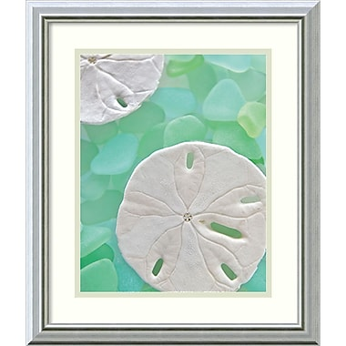 Amanti Art Seaglass 5 Framed Art Print by Alan Blaustein, 20