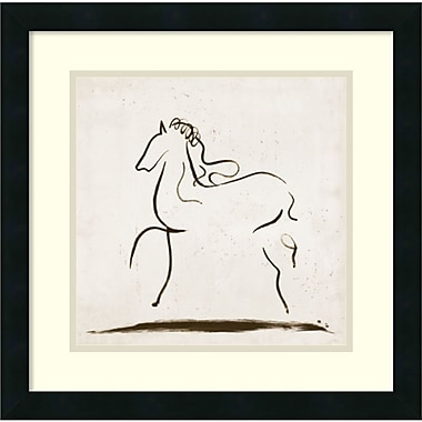 Amanti Art Horse I Framed Art Print by Tom Reeves, 18