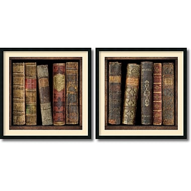 Amanti Art In the Library Framed Art Print by Russell Brennan, 34